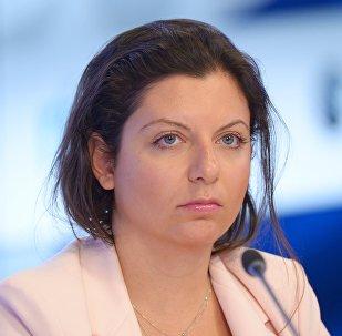 Margarita Simonián, la directora de Sputnik y RT (archivo)