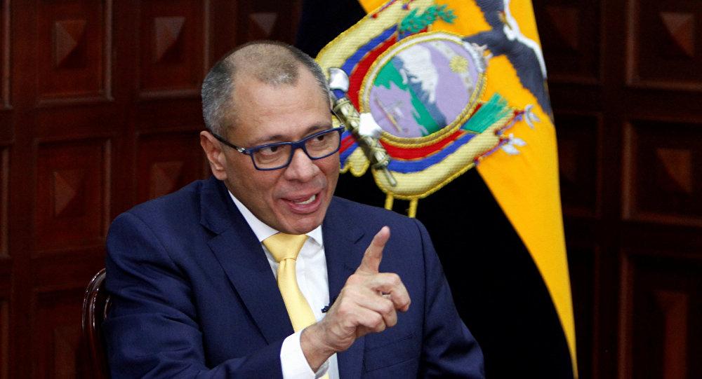 Jorge Glas, exvicepresidente de Ecuador (archivo)