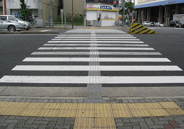 Cruce peatonal