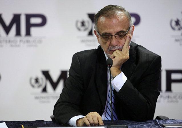 Iván Velásquez, el jefe de la Comisión Internacional Contra la Impunidad en Guatemala (archivo)