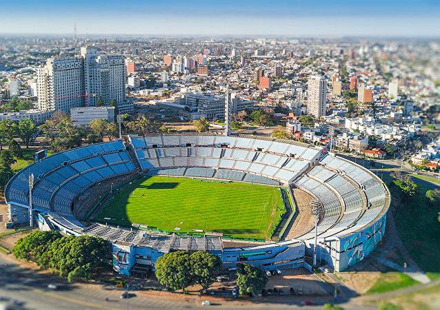 Estadio Centenario en Montevideo, Uruguay