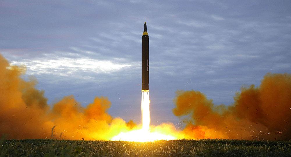 Un misil de medio alcance (imagen referencial)