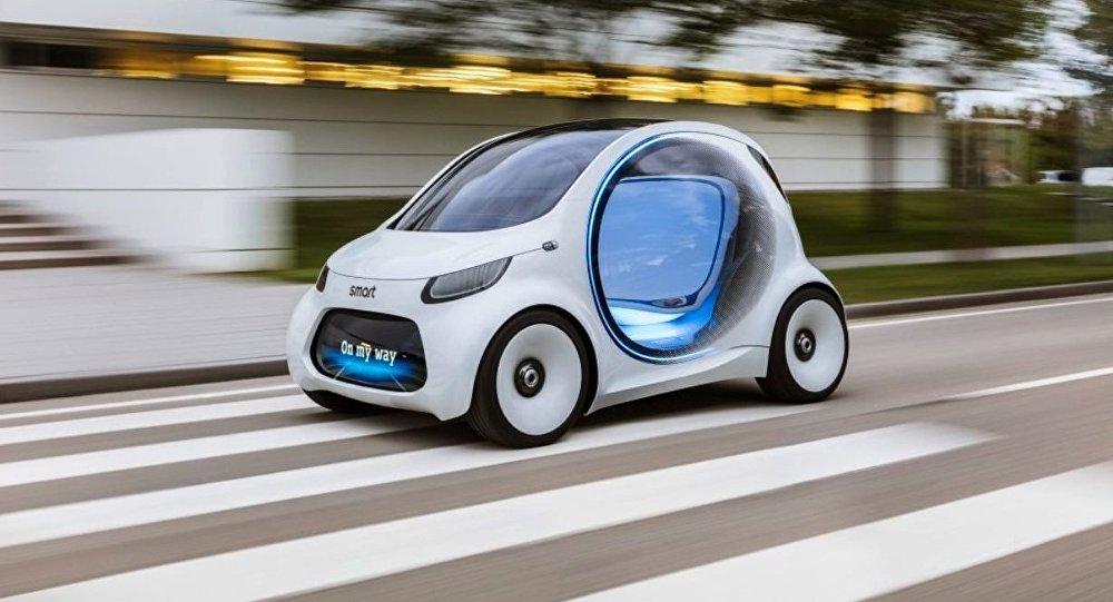Smart Vision EQ Fortwo, automóvil eléctrico
