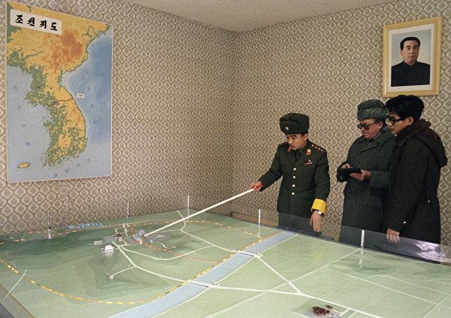 La península de Corea