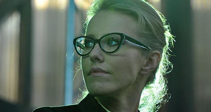 Ksenia Sobchak, periodista y presentadora de televisión