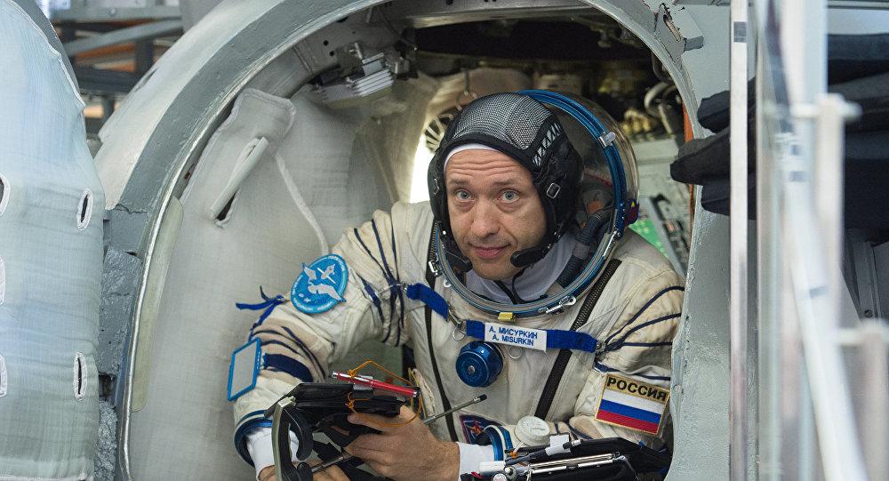 Alexandr Misurkin, cosmonauta ruso (archivo)