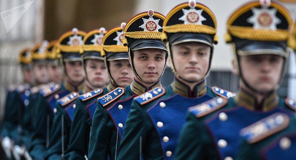 Soldados del Regimiento Presidencial