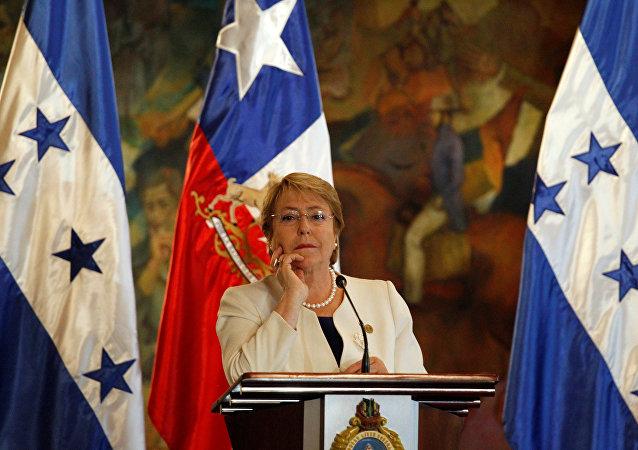 Michelle Bachelet, la presidenta de Chile