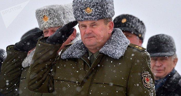 Andréi Ravkov, ministro de Defensa de Bielorrusia