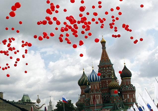 Día de la Ciudad en Moscú (Archivo)