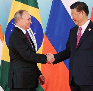 El presidente de Rusia, Vladímir Putin, y el presidente de China, Xi Jiping (archivo)