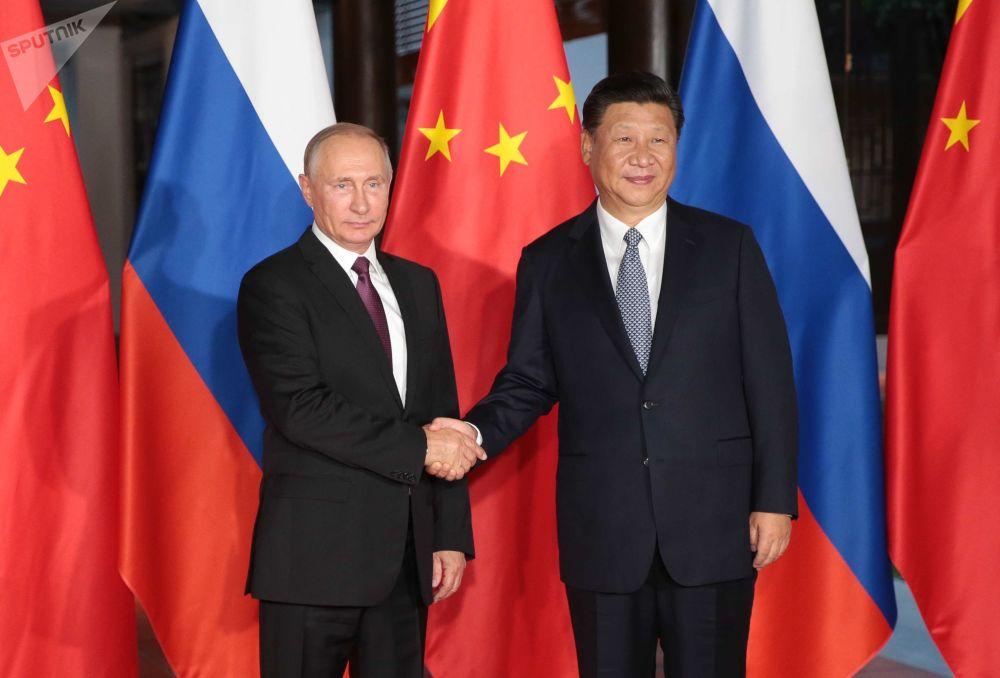 La visita del presidente ruso Vladímir Putin a China