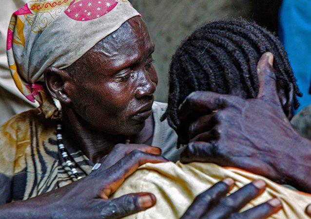 Personas infectadas con malaria