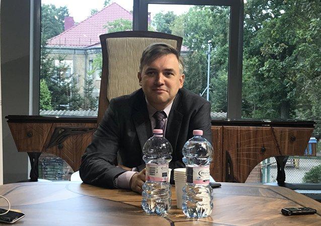 El ministro de Turismo de la región rusa de Kaliningrado, Serguéi Ermak