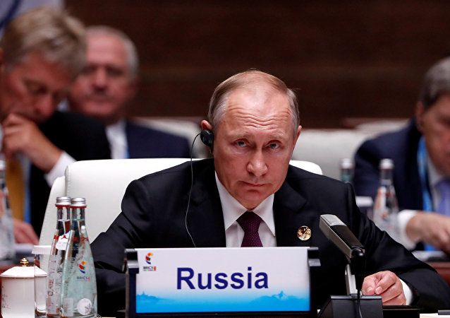 Vladímir Putin, presidente de Rusia en la Cumbre de los BRICS