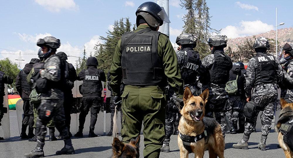 Policía boliviana (archivo)