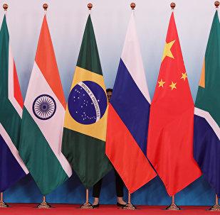 Banderas de los países miembros del BRICS