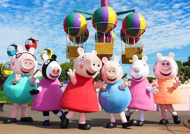 Los personajes de Peppa Pig