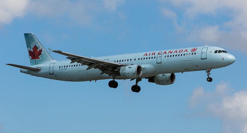 Un avión de Air Canada (archivo)
