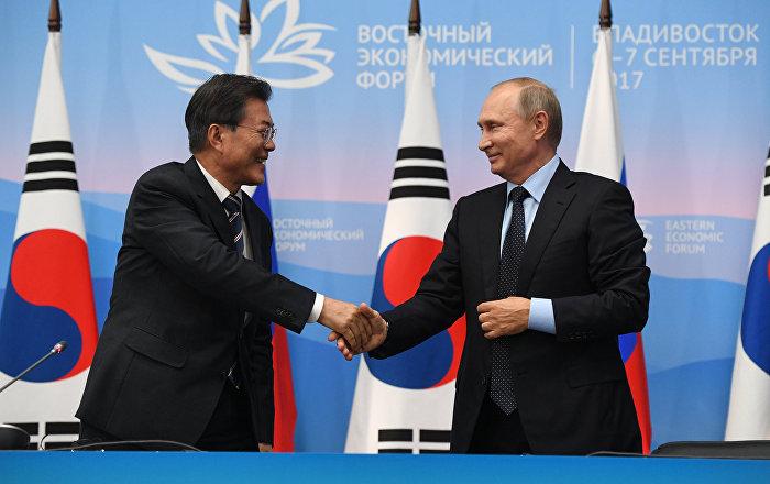 Putin rusia y corea del sur estudian aumentar los for Pavimentos y suministros del sur