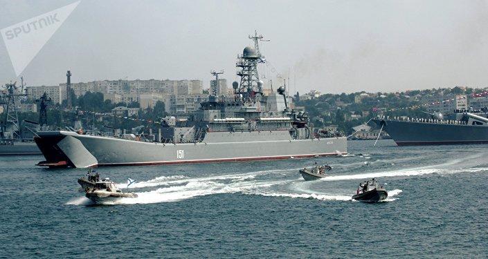 Gran buque anfibio Azov (archivo)