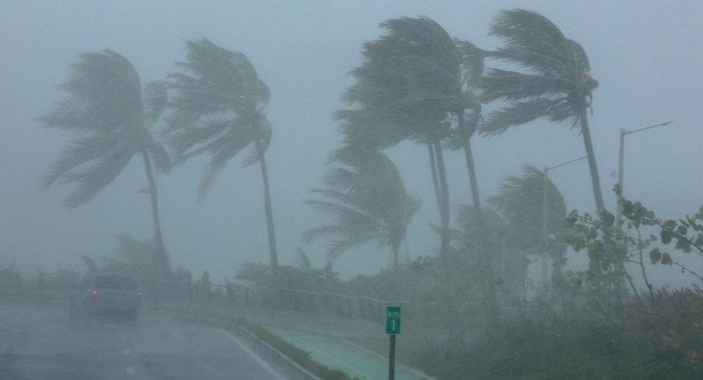 Huracán Irma (archivo)