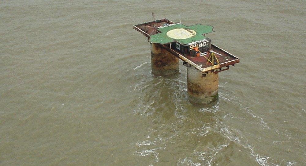 La plataforma Sealand