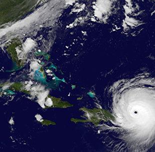 El huracán Irma (archivo)