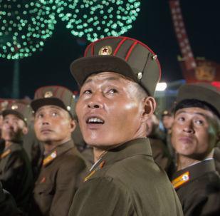 Las celebraciones en Pyongyang tras el exitoso ensayo de la bomba de hidrógeno, Corea del Norte, 6 de septiembre de 2017