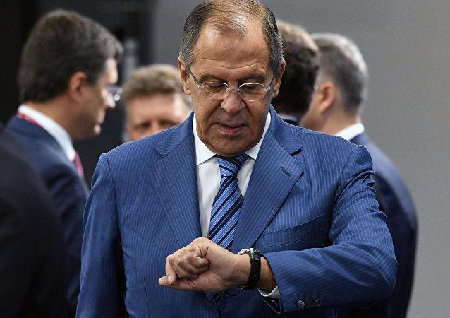 Serguéi Lavrov, canciller ruso (archivo)
