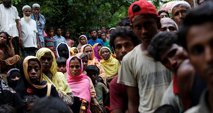 Rohinyás de Birmania