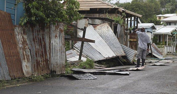 Consecuencias del huracán Irma en Antigua y Barbuda