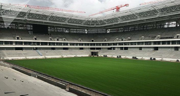 Estadio de Kaliningrado, Rusia (archivo)
