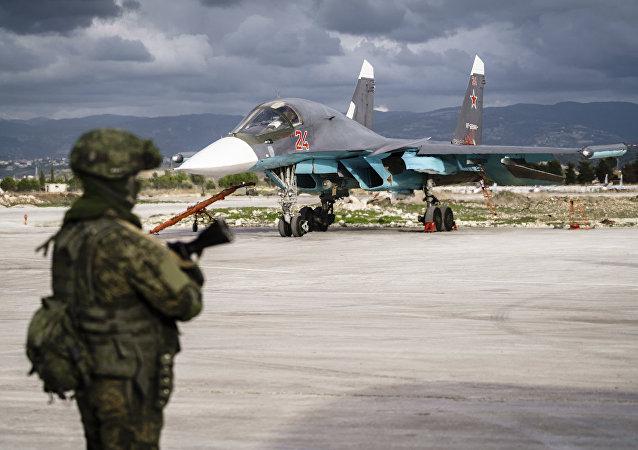 Militar ruso en Siria (archivo)