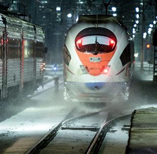 El tren de alta velocidad Sapsan