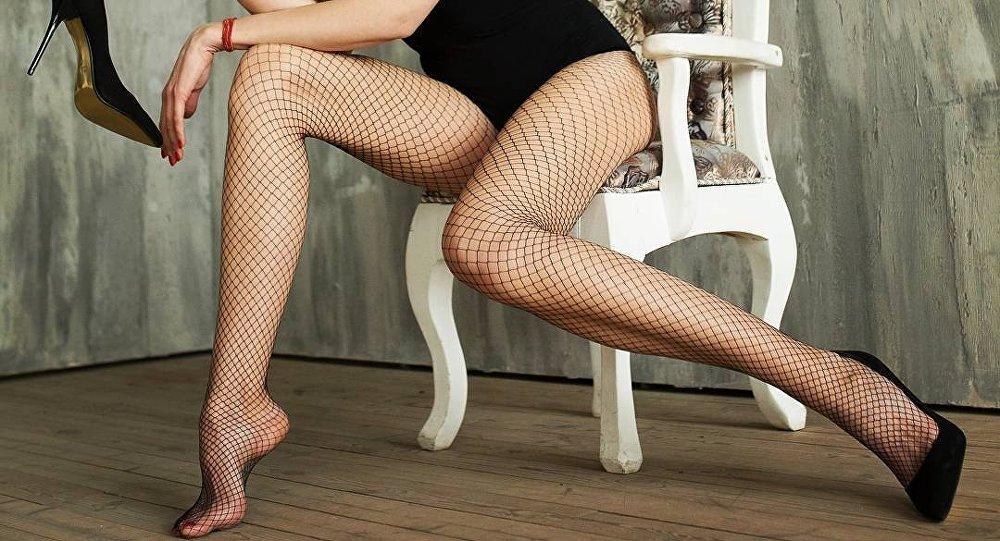 Ekaterina Lísina, ganadora del récord de las piernas más largas del mundo