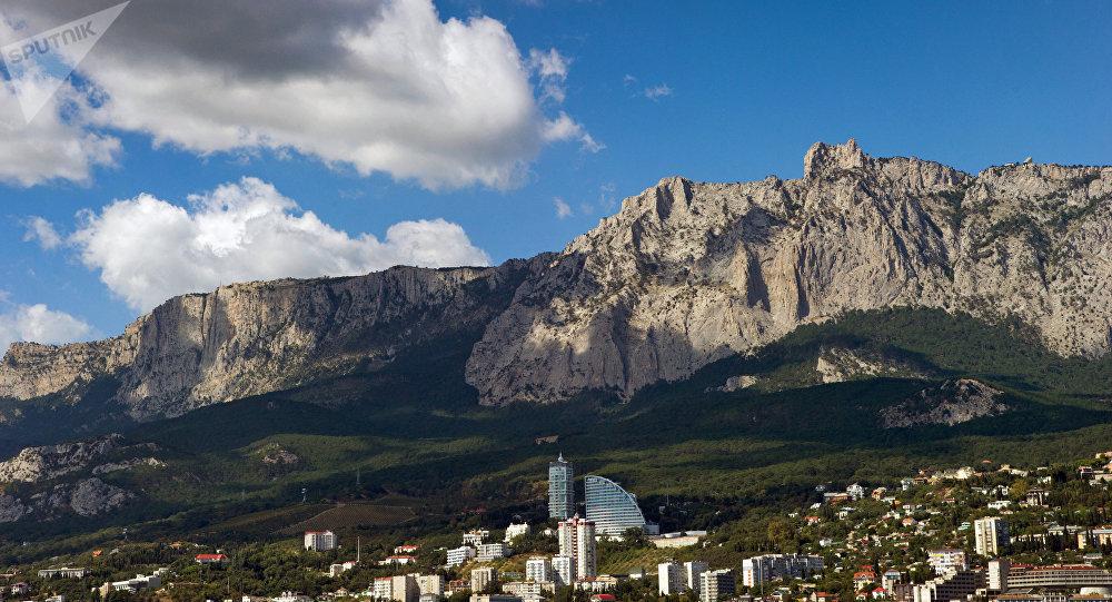 La montaña Ai-Petri, Crimea