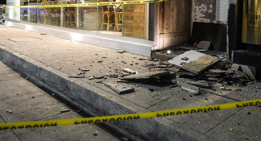 Consecuencias del terremoto en México (archivo)
