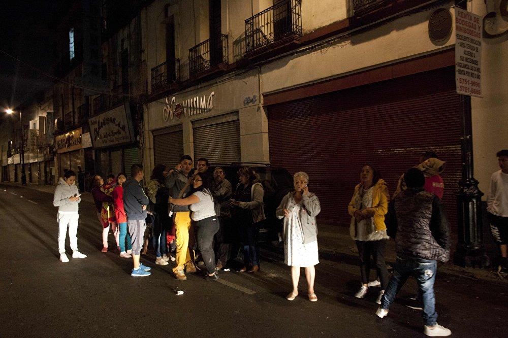 Resultado de imagen para Daños provocados por fuerte terremoto en mexico