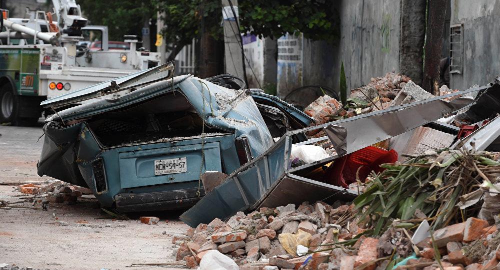 Las consecuencias del terremoto en México