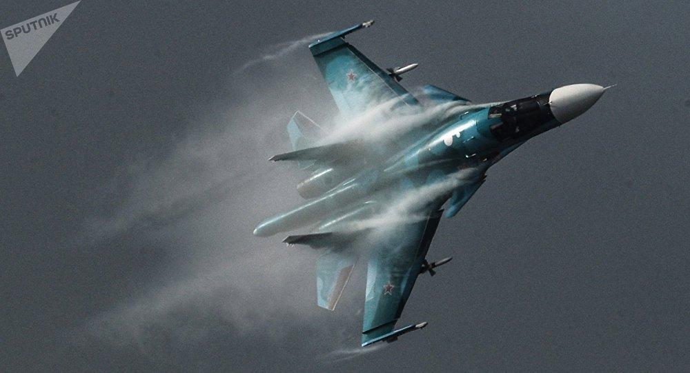 Avión Su-34