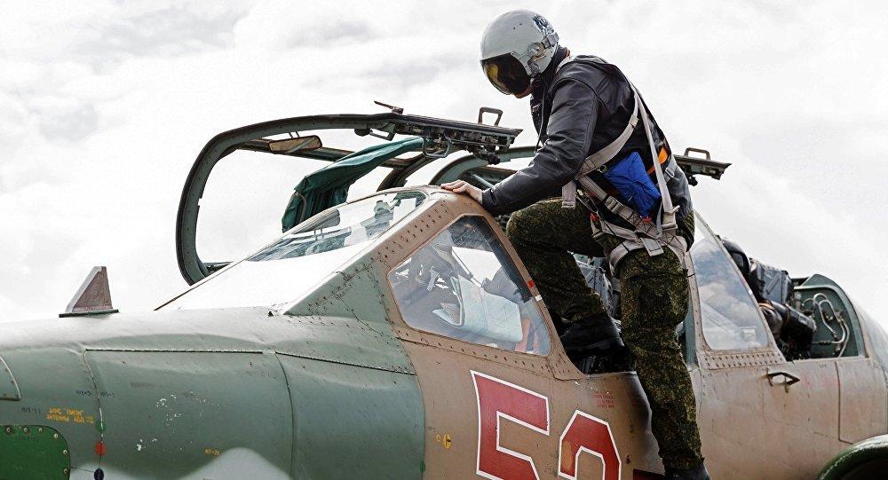 Un piloto ruso en Siria (archivo)