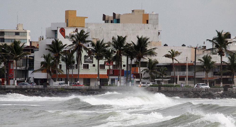 Huracán Katia en Veracruz, México