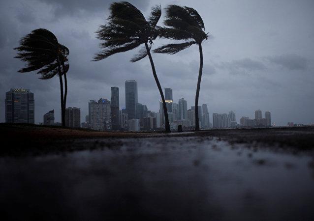 El huracán Irma se acerca a Florida, EEUU