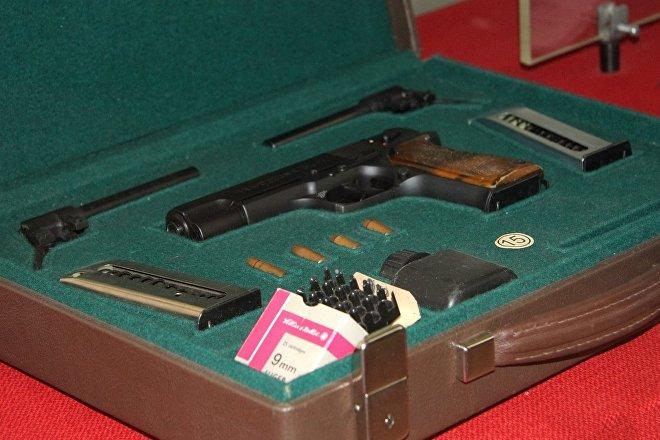 La pistola OTs-27