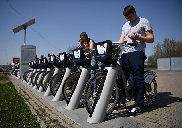 Bicicletas de alquiler en Moscú