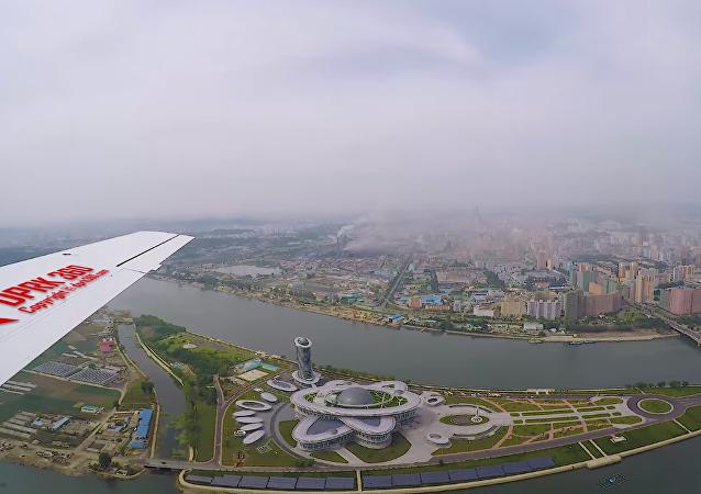 Pyongyang a vista de pájaro