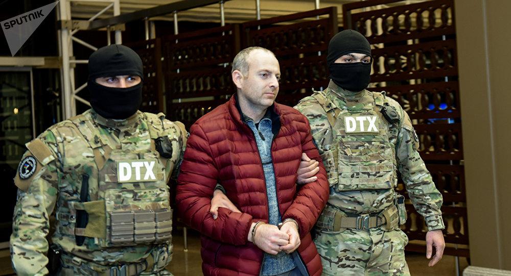 El bloguero ruso-israelí en Azerbaiyán (archivo)