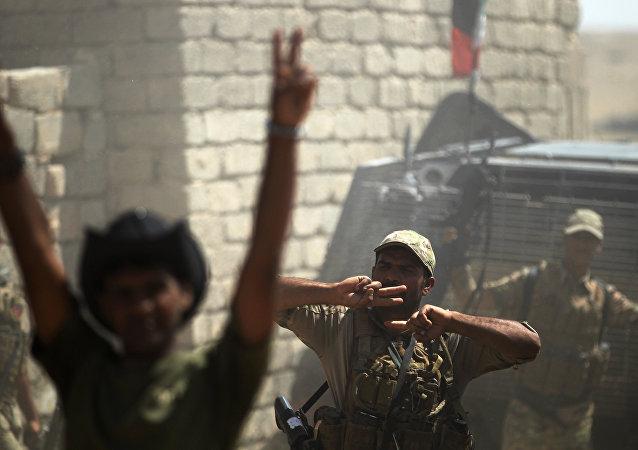 Los militares iraquíes (archivo)