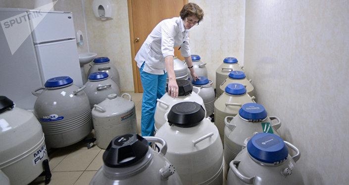 Envases en un laboratorio